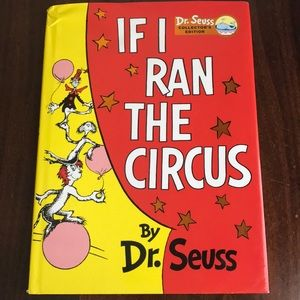 Dr. Seuss If I Ran The Circus Collector's Edition